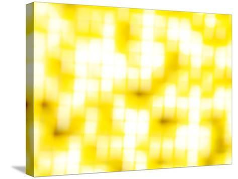 Honeycomb-Sarah Silver-Stretched Canvas Print