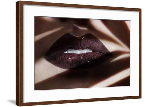 Shadowed Dark-Sarah Silver-Framed Art Print