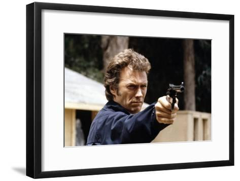 Magnum Force 1973 Directed by Ted Post Clint Eastwood--Framed Art Print