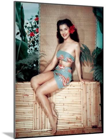 Bird of Paradise 1951 Directed by Delmer Daves Debra Paget--Mounted Photo