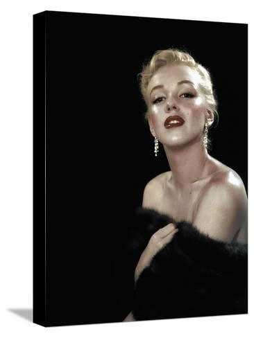 All About Eve, Marilyn Monroe, Directed Joseph L. Mankiewicz, 1950--Stretched Canvas Print
