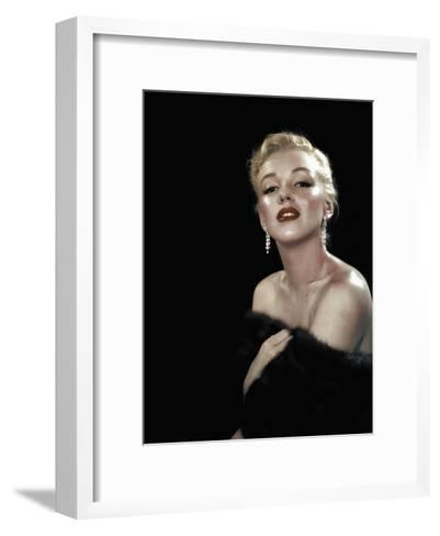 All About Eve, Marilyn Monroe, Directed Joseph L. Mankiewicz, 1950--Framed Art Print