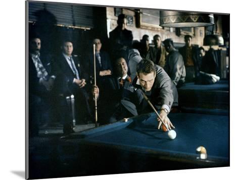 The Hustler, Paul Newman, Directed by Robert Rossen, 1961--Mounted Photo