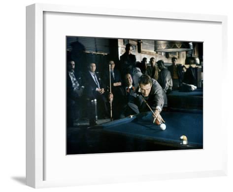 The Hustler, Paul Newman, Directed by Robert Rossen, 1961--Framed Art Print