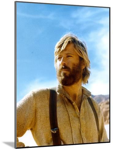 Jeremiah Johnson 1972 Directed by Syney Pollack Robert Redford--Mounted Photo