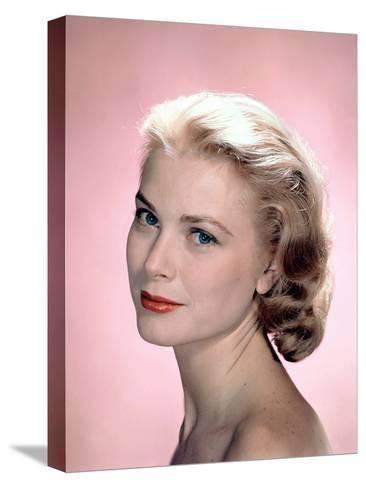 Grace Kelly in the 50's--Stretched Canvas Print