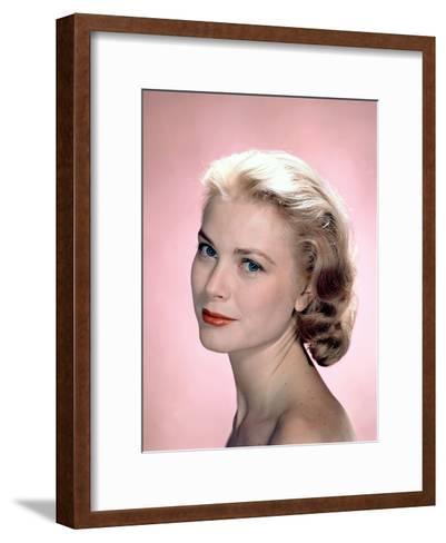 Grace Kelly in the 50's--Framed Art Print