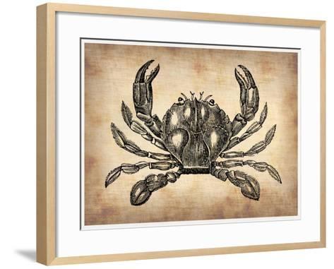 Vintage Crab-NaxArt-Framed Art Print