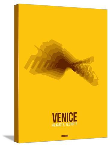 Venice Radiant Map 4-NaxArt-Stretched Canvas Print
