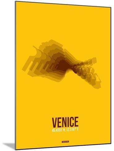 Venice Radiant Map 4-NaxArt-Mounted Art Print