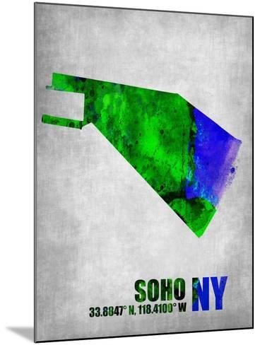 Soho New York-NaxArt-Mounted Art Print