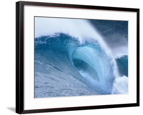 Waves Splashing in the Sea--Framed Art Print