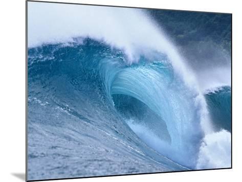 Waves Splashing in the Sea--Mounted Photographic Print