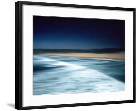 Abstract Seascape Portugal--Framed Art Print