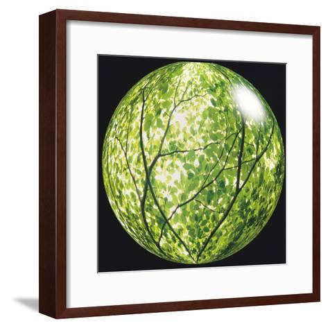 View of Tree in Sphere--Framed Art Print