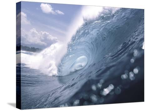Wave Power--Stretched Canvas Print