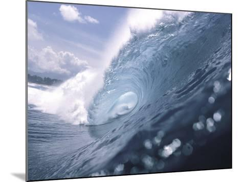 Wave Power--Mounted Photographic Print
