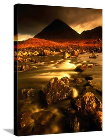 Isle of Skye Highlands Scotland--Stretched Canvas Print