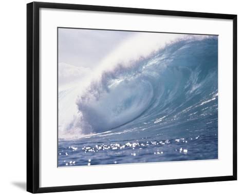 Spraying Waves--Framed Art Print