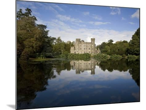 Lake And 19th Century Gothic Revival Johnstown Castle, Co Wexford, Ireland--Mounted Photographic Print
