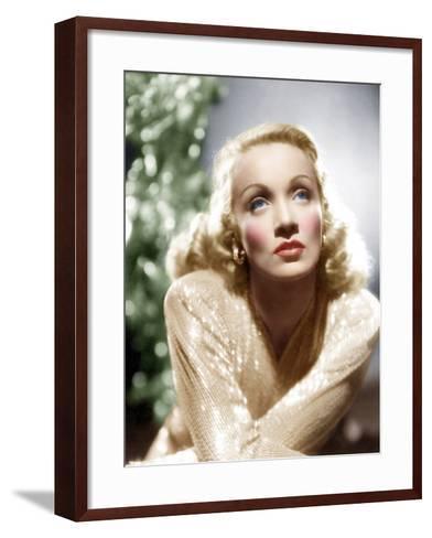 Marlene Dietrich, ca. 1930s--Framed Art Print