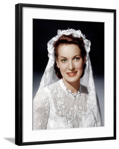 THE QUIET MAN, Maureen O'Hara, 1952--Framed Art Print