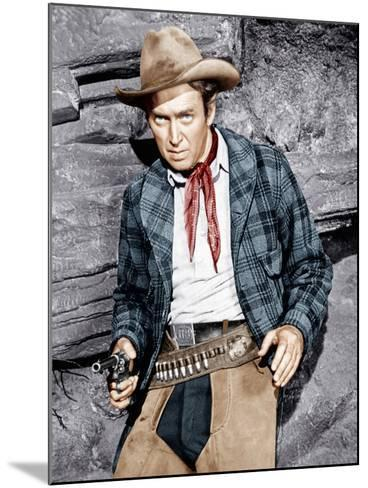 THE NAKED SPUR, James Stewart, 1953--Mounted Photo