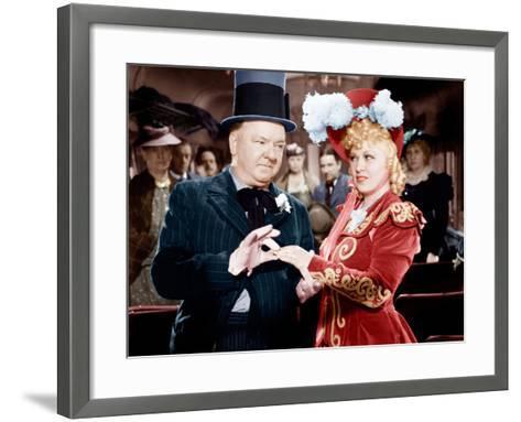 My Little Chickadee, W.C. Fields, Mae West, 1940--Framed Art Print