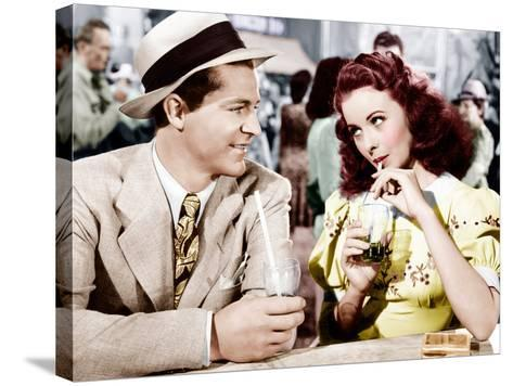 State Fair, Dana Andrews, Jeanne Crain, 1945--Stretched Canvas Print
