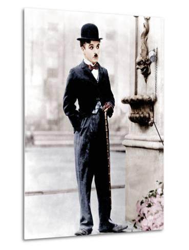 City Lights, Charlie Chaplin, 1931--Metal Print