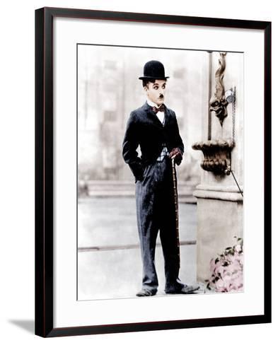 City Lights, Charlie Chaplin, 1931--Framed Art Print
