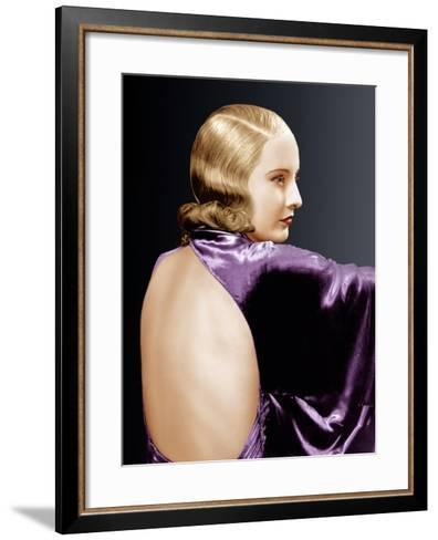 Baby Face, Barbara Stanwyck, 1933--Framed Art Print