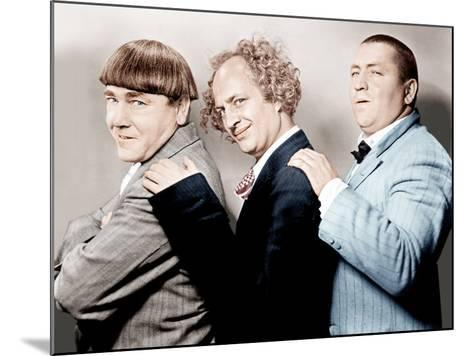 Disorder in the Court, Moe Howard, Larry Fine, Curly Howard, (aka The Three Stooges)--Mounted Photo