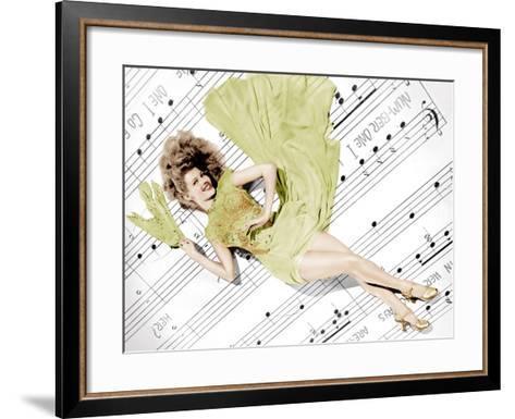 Cover Girl, Rita Hayworth, 1944--Framed Art Print