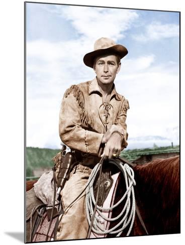 Shane, Alan Ladd, 1953--Mounted Photo