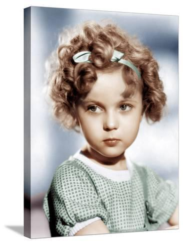 Shirley Temple, ca. 1934--Stretched Canvas Print