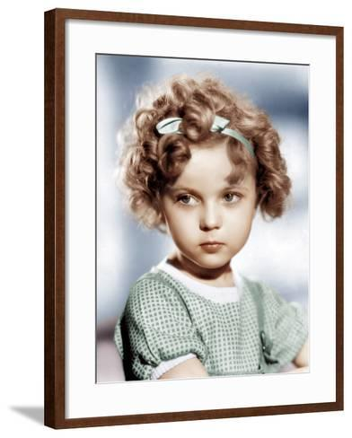 Shirley Temple, ca. 1934--Framed Art Print