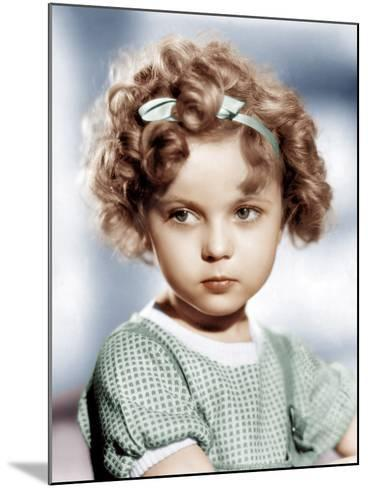 Shirley Temple, ca. 1934--Mounted Photo