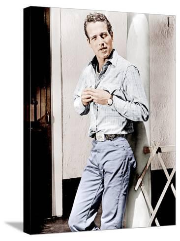 Hud, Paul Newman, 1963--Stretched Canvas Print