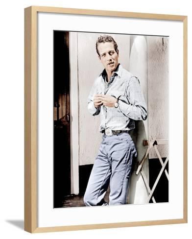 Hud, Paul Newman, 1963--Framed Art Print