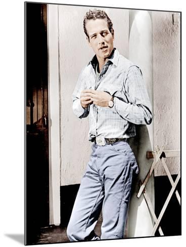Hud, Paul Newman, 1963--Mounted Photo