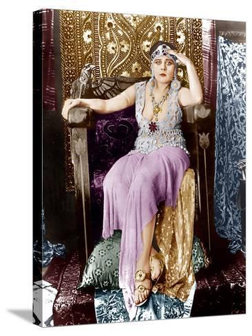 Cleopatra, Theda Bara, 1917--Stretched Canvas Print