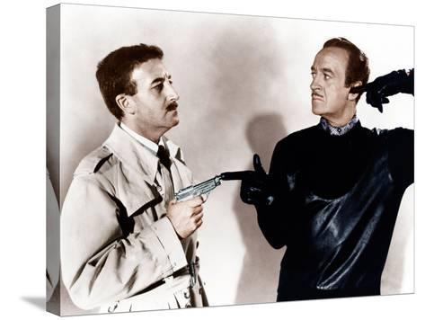 The Pink Panther, Peter Sellers, David Niven, 1963--Stretched Canvas Print