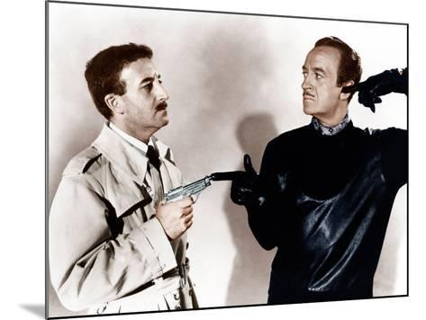 The Pink Panther, Peter Sellers, David Niven, 1963--Mounted Photo