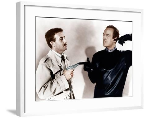 The Pink Panther, Peter Sellers, David Niven, 1963--Framed Art Print