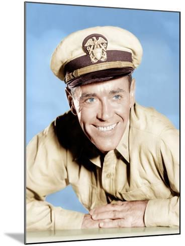 MISTER ROBERTS, Henry Fonda, 1955--Mounted Photo