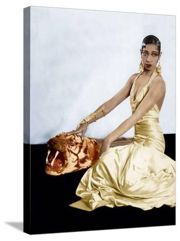 Josephine Baker, ca. 1920s--Stretched Canvas Print