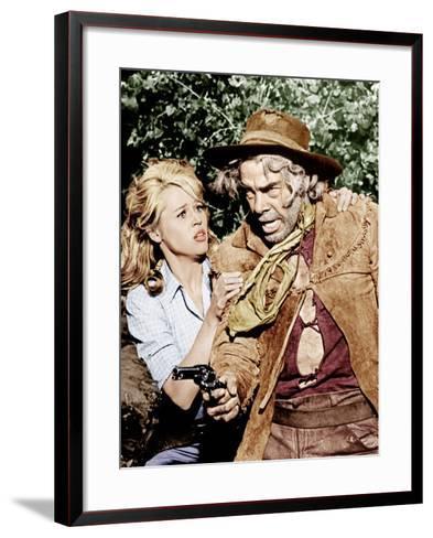 Cat Ballou, Jane Fonda, Lee Marvin, 1965--Framed Art Print