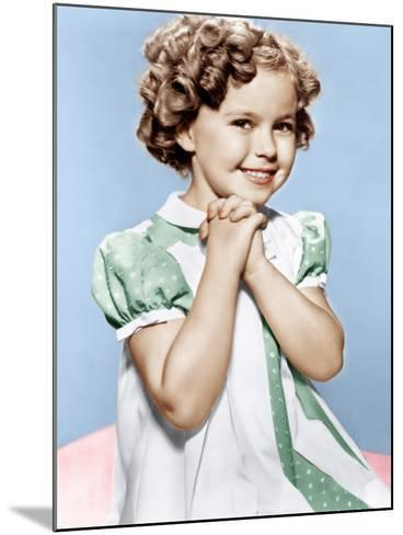 Shirley Temple, ca. 1936--Mounted Photo
