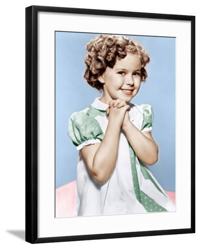 Shirley Temple, ca. 1936--Framed Art Print